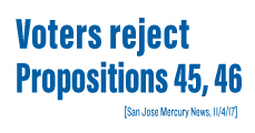 Voters Reject 45 and 46